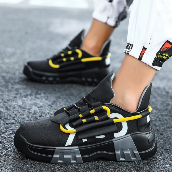 2021 New Fashion New Men Casual Shoes Men Sneaker Spring Summer Arrival Men Shoes Lace-Up Breather Mesh Male Shoes AdultDress