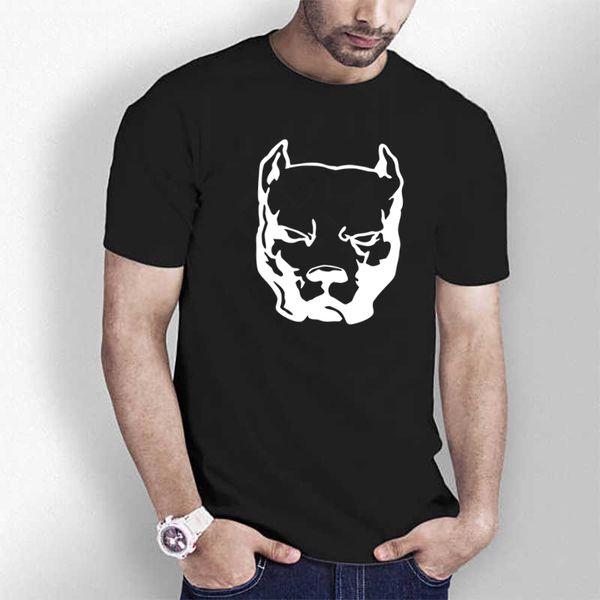 HT0103# Pitbull t shirt men tshirt men's tshirt summer Tshirt fashion cool O neck short sleeve shirt