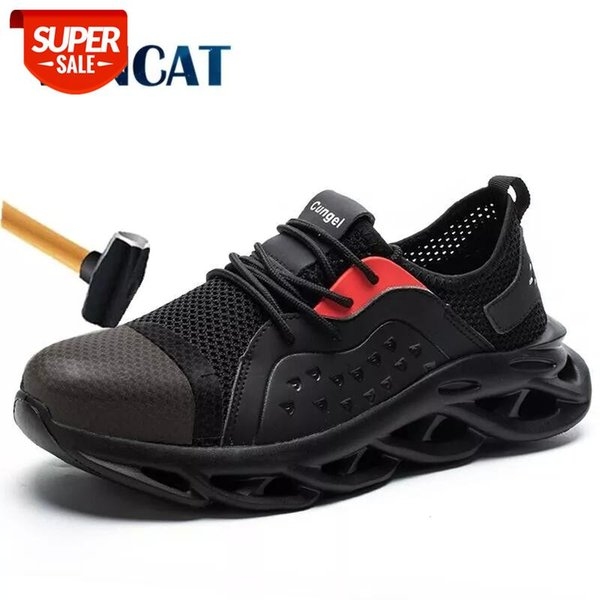 Men's Steel Toe Safety Shoes Lightweight Mesh Breathable Men's shoes Anti-smashing Men Work Shoes Protection Industrial #LC9B Cataloge Men Shoes, Shoes For Men, Male Shoes, Fashion ShoesStyle Fashion / Trendy / New / HotOccasion All Match / Streetwear / Club / PartyFor Group Men / MaleWearing Design Fashion / Comfortable / BreathableFeatures High Quality / AntiwearingKeywords Men Shoes, Shoes For Men, Male Shoes, Fashion Shoes
