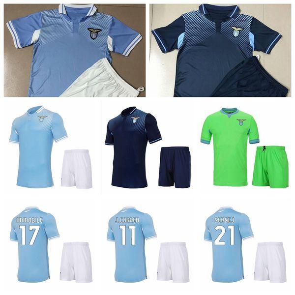 20 21 Soccer Lazio 11 Joaquin Correa Jersey Set 21 Sergej ...