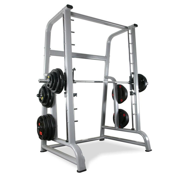 top popular Commercial Smith Machine Bench Press Squat Rack gang ling chuang Multi-functional Weightlifting Set Equipment 2021