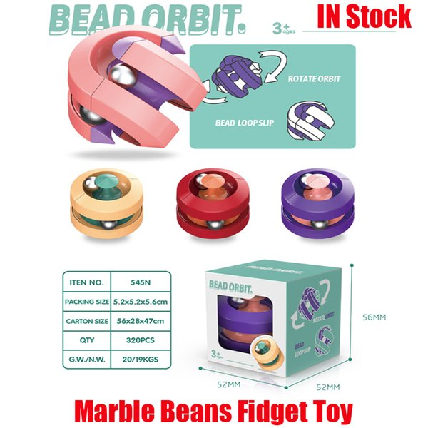 top popular Fidget Cube Toy Magic Puzzle Orbit Ball Cubes Bead Infinity Fidgets Spinner Marble Beans Stress and Anxiety Relief Depression for Kid Adult with Adhd Autism 2021