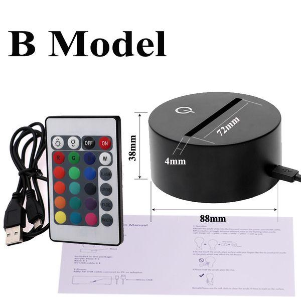 USA Stock 3D Base B Modello
