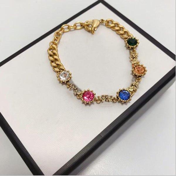 best selling Jewelry Women Pearl bracelet Jewel-encrusted bracelet Gold Bracelet Designer designer pearl Steel For Gift box good quality Shiny Jeweller