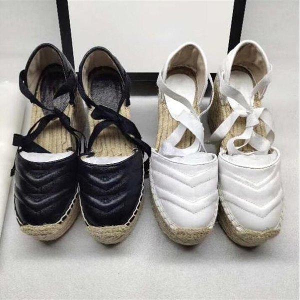 top popular 2021 designer luxury jewelry women summer beach high heels open toe gold slope heels fashion wholesale button sandals grass soled shoes 2021
