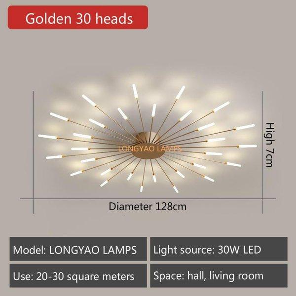 Golden 30 Heads-Neutral Light