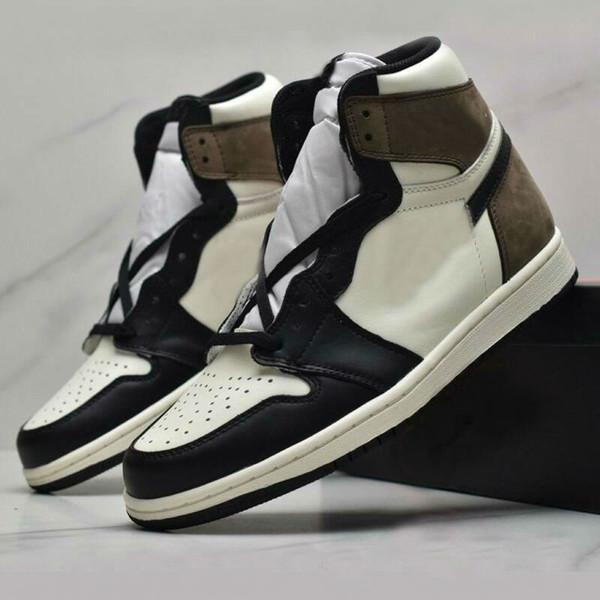 best selling 1 High 1s Black Dark Mocha women Mens Basketball Shoes Outdoor Sports Sneakers