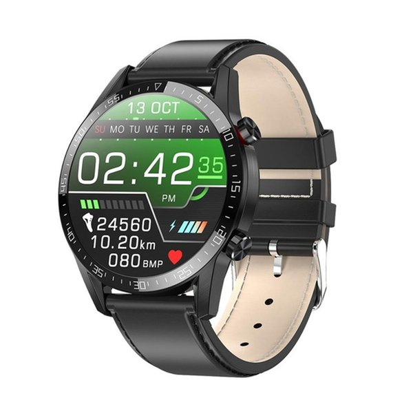 best selling L13 Smart Watch Men IP68 Waterproof ECG PPG Bluetooth Call Blood Pressure Heart Rate Fitness Tracker Sports Smartwatchs mens watches