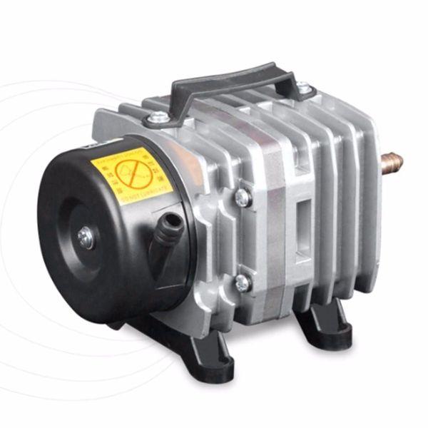 best selling 220V 18W 38L Min Aquarium Air Pump Electromagnetic Air Compressor Fish Tank Farms Pond Oxygen Pump Aquarium Accessories Y200922