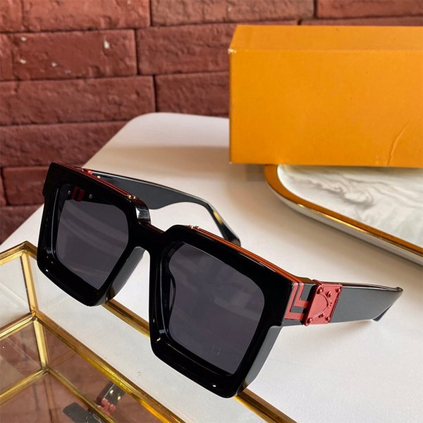 top popular fashion classic attitude sunglasses gold frame square metal vintage style outdoor classical model 2HJD 2021