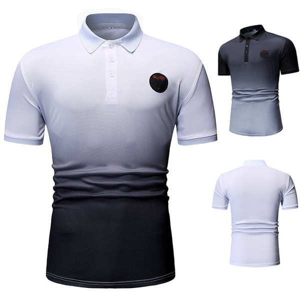top popular 2021 Fashion Summer Men Polo Casual CottonPolos Men's Breathable Short Sleeve Tee Shirt Golf Tennis New Brand Clothes 2021