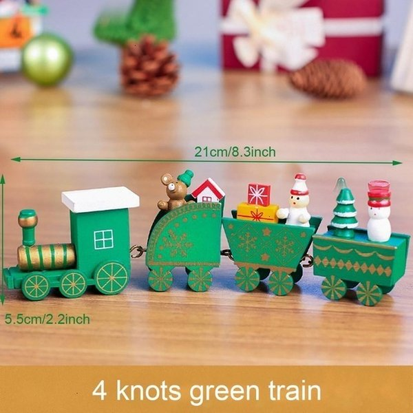 4 Nœuds Train Vert Style 3