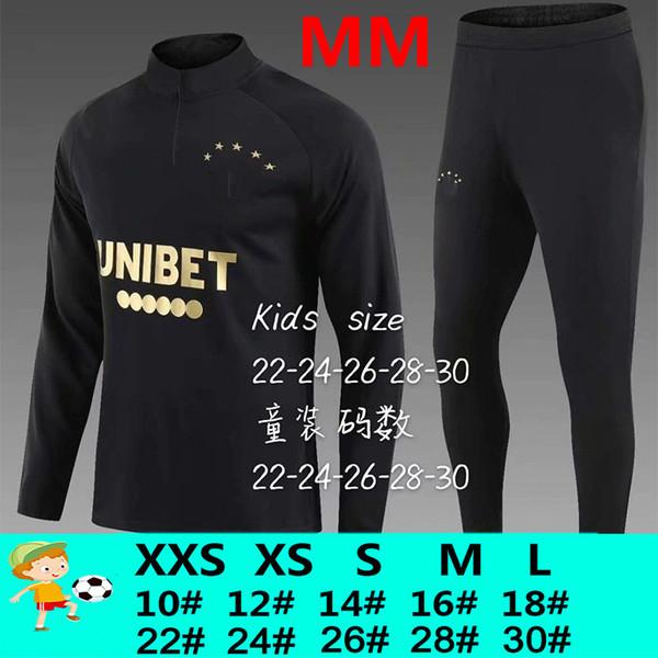 MM Black Trainingsanzug Kinder