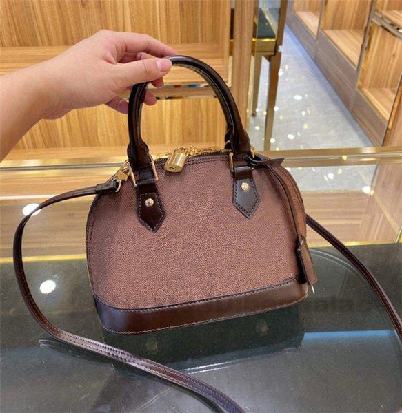 best selling Shoulder Bags 2021 New Luxurys Designers Mini Shell Bags handbags CrossBody Bag Fashion Women Leather High Quality bolsos de las mujeres