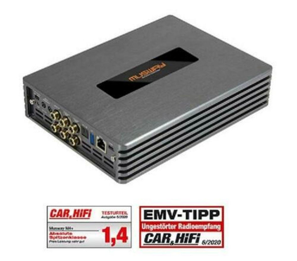 best selling Hot ! Car M4 +4 Channel Class D Amplifier Amp With 8-KANAL Dsp 540 Watt RMS
