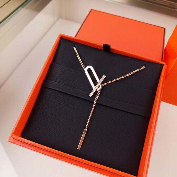 top popular Elegant Bracelet Necklace Tennis Pendants Suit Man Woman Unisex Chain Wedding Bracelets Necklaces Special Design Jewelry Top Quality 2021