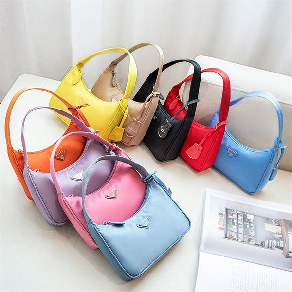 best selling Top quality New Women's Re-edition 2005 tote Nylon leather Shoulder Bag Luxury Designer Women's Shoulder Bag Crossbody Bags Handbag