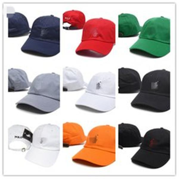 top popular Top Selling polo golf hats Brand Hundreds Strap Back cap men women bone snapback hat Adjustable casquette panel golf 2021