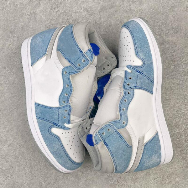 best selling Authentic 1 High OG Hyper Royal 1S Blue Basketball Shoes Men Women Outdoor Shoe Sports Sneakers
