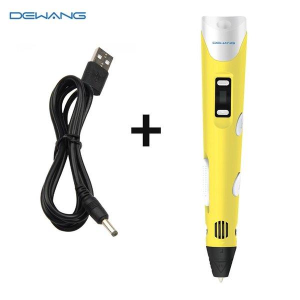 Yellow 3D Pen