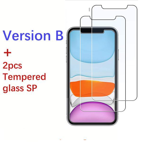 Versione B + 2pcs Glass SP