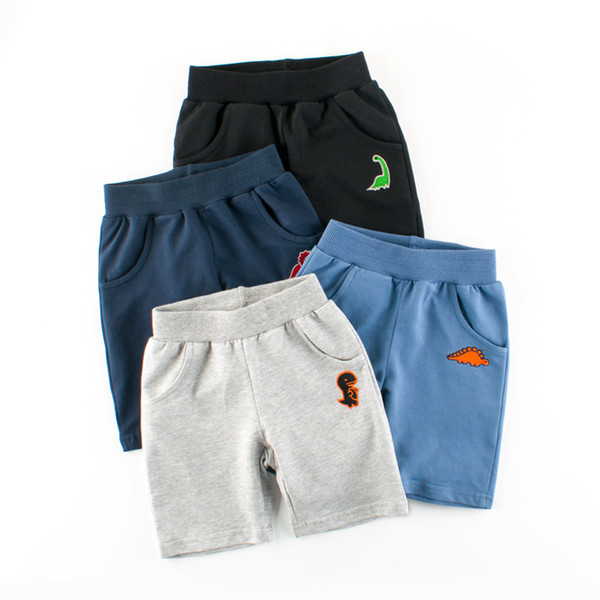best selling 1-9 Years Children Boys Shorts Pants 100% Cotton Dinosaur Cartoon Sport Casual Knickers for Baby Boys Girls