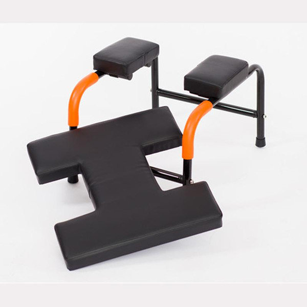 best selling Fitness Yoga Assisted Inverted Chair Home Gym Chair Handstand Stool With Soft Mat