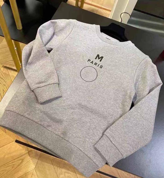 best selling Kids Sweatshirts Boys Girls Fashion Letter Printed Long Sleeve Pullover Tops Children Casual Loose Hot Sale Sweatshirts Kids Clothing