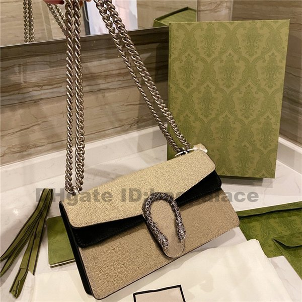 best selling 2021 New Luxurys Designers Bags Shoulder Bags Chains Leather Handbags Girl Fashion Women Bags Cross Body Bag Printed Flower Best Sale