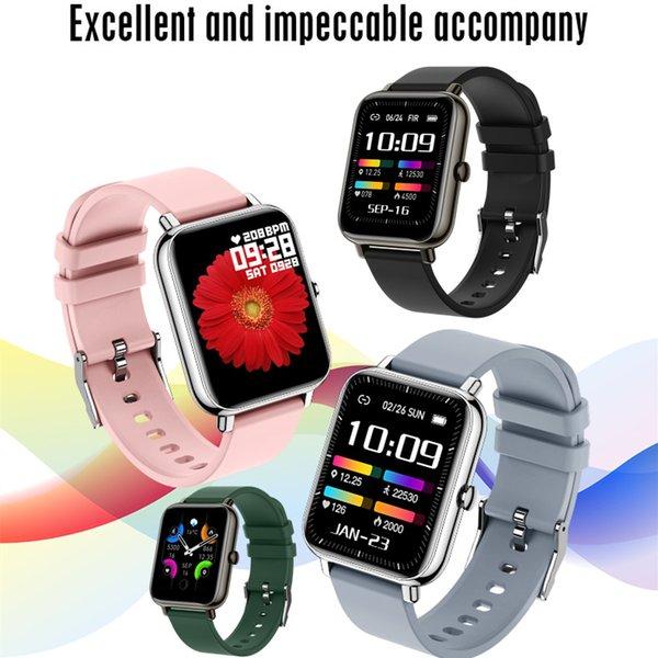 best selling P22 Plus Smart Watch Women Sports Watches Men Heart Rate Monitor Blood Pressure Oxygen Monitoring Fitness Tracker Bluetooth Smartwatch iOS Phone IP68 Waterproof