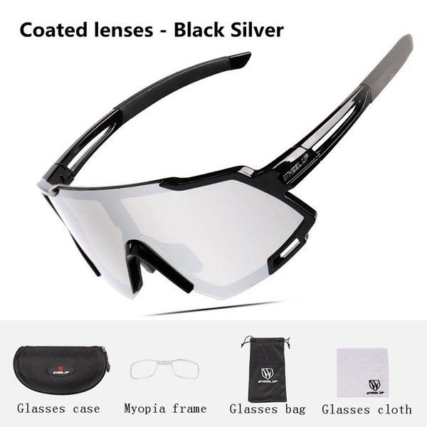 Coated lenses - Black Silver(06#)