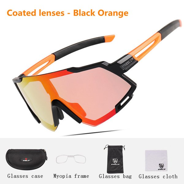 Coated lenses-Black Orange(02#)