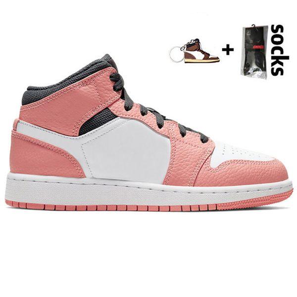 13 36-45 Mid GS розовый кварц