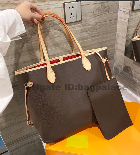 top popular Shopping Bags 2021 Luxurys Designers Shoulder Bags Women Large Capacity High Quality Bag Fashion Leather Free Shipping 2021