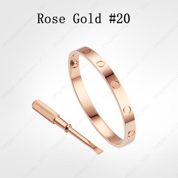 Rose Gold # 20