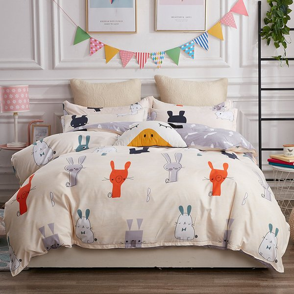 top popular Bedding printed aloe Cotton Single quilt cover 2021 5VE7 2021