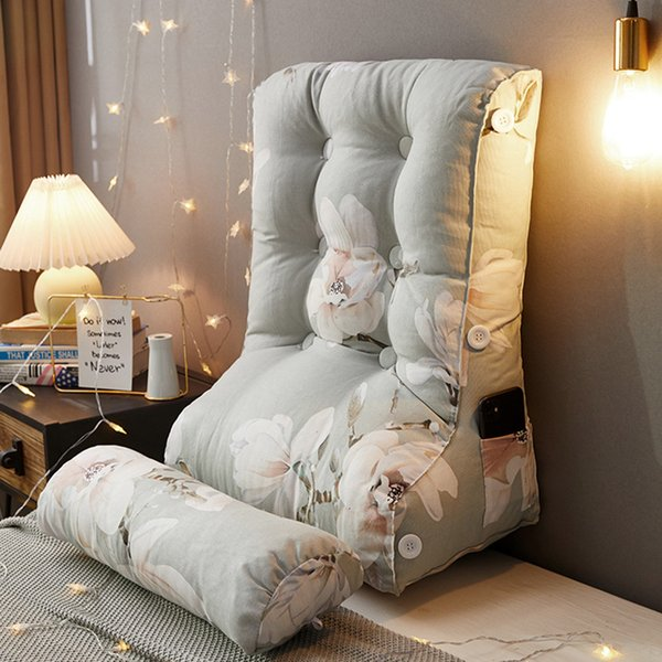 top popular Modern column bed back pillow waist bedroom cushion cover personality Korean stereo long 2021 P896 2021