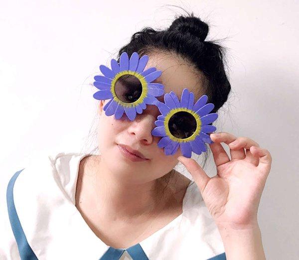 Sonnenblumen-Lila
