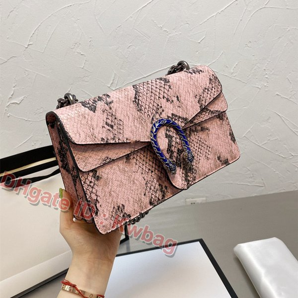best selling 2021 Classic Wallet Luxurys Designers Leather Shoulder Bag Serpentine Chains Bags Vintage Ladies high-quality Messenger mini bags Fashion