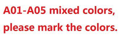 A01-A05 MIEXD COLORS