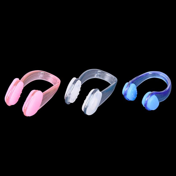 top popular 1 Pcs Unisex Nose Clip Soft Silicone Swimming Nose Clips Waterproof Clip for Children Adults Pool Accessories Water Sports 2021