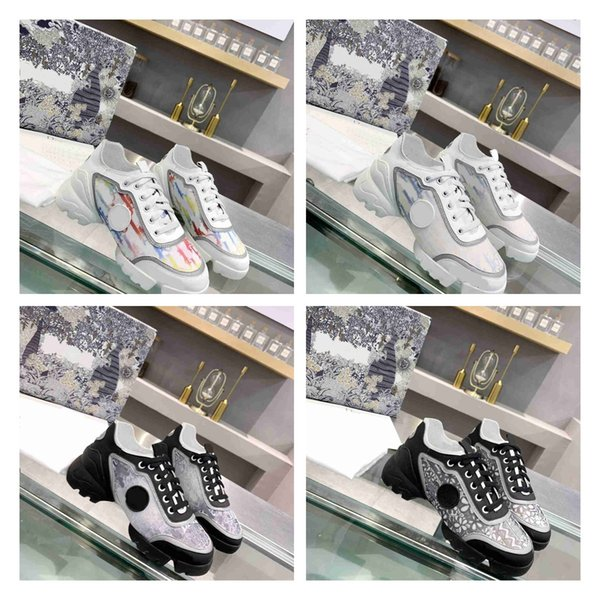 best selling luxury one-piece sports shoes designer high quality wholesale high-end printing fashion retro casual shoes black and white nude
