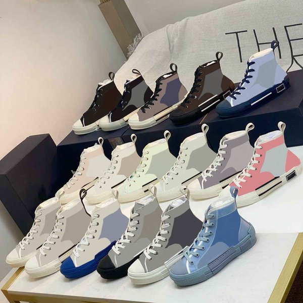 2021 fashion print Obliques luxurys designers Casual shoes spring and fall mens Womens Outdoor Platform comfortable beautiful Shoe with box Top Quality
