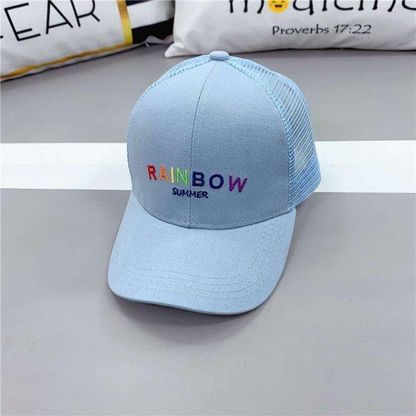 Blue - Chapeau Net de pluie