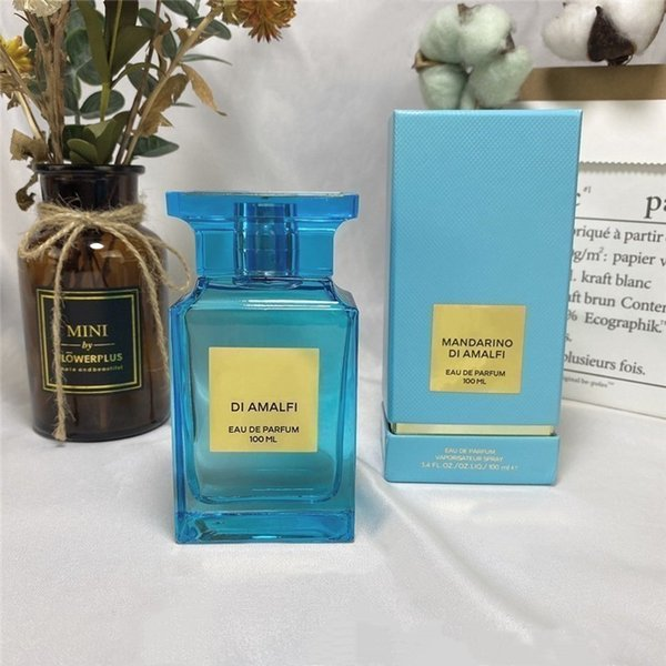 best selling In Stock eau de parfum MANDARINO DI AMALFI unisex perfume 100ml long lasting time nice smell Fast Delivery