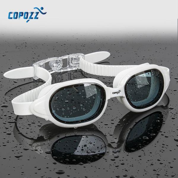 best selling COPOZZ Swimming Goggles Myopia 0 -1.5 to -7 Men Women Anti fog UV Protecion Waterproof Swimming Glasses Diopter Swim Eyewear 210305
