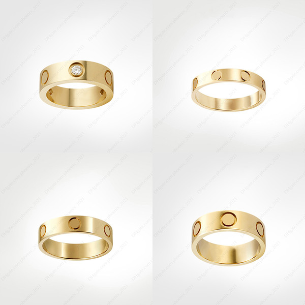 best selling love screw ring designer Diamond rings classic luxury designer jewelry women gold rings Titanium steel Gold-plated Never fade Not allergic