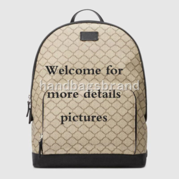 Famous High quality backpack classic leather travel bags fashion business bag notebook bagsschool bag 406370 size: 31.5*41*14.5cm