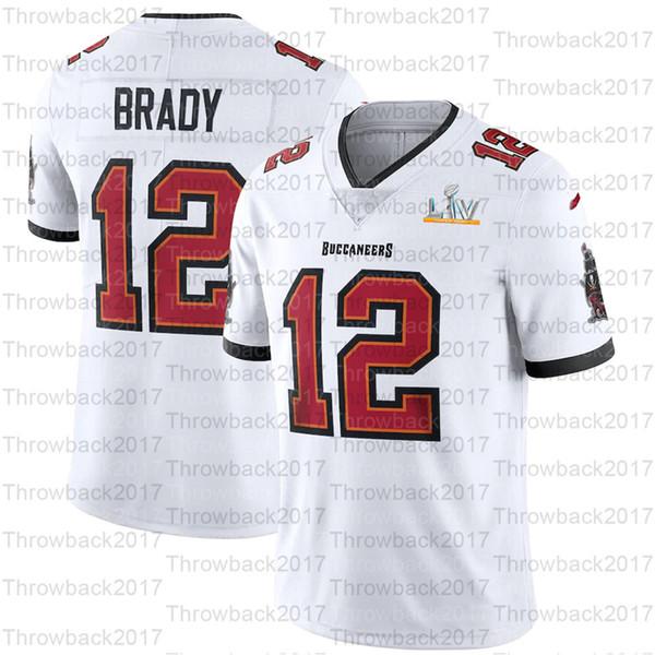 12 Tom Brady / Branco