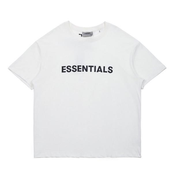best selling Street fashion brand essentials stereo letters men and women oversize summer lovers loose half sleeve fashionl
